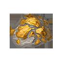 黄金の結晶片の画像