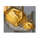 黄金の結晶の画像