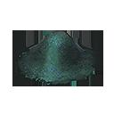 グラフェンの結晶片の画像