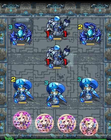 秘泉の神殿時の間 弐/2のステ1攻略