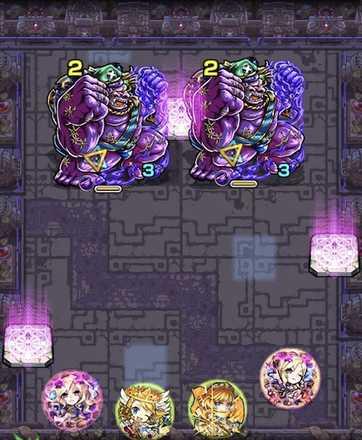 常闇の神殿【時の間・弐】のステージ1