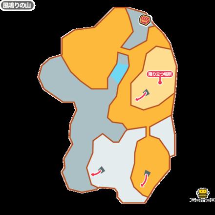 ドラクエ8の風鳴りの山