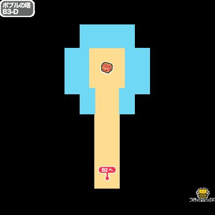 ドラクエ5のボブルの塔のB3-D