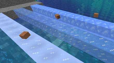 マイクラの青氷の特徴