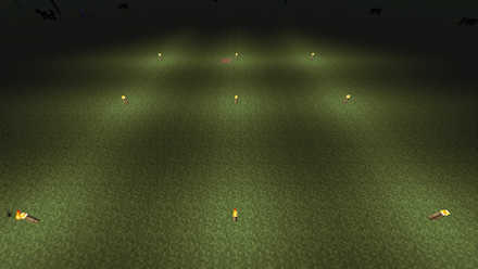 光源ブロック等間隔画像