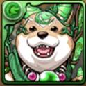 木と闇の犬龍の画像