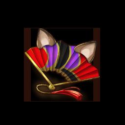 妖狸扇子の画像