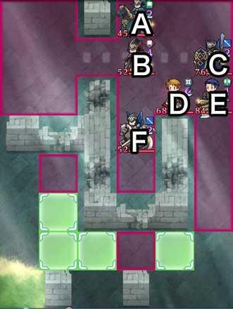 ヘクトル&マシュー戦インファナルマップ