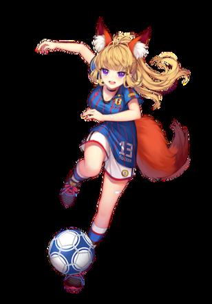 [サッカー美少女]今川義元画像