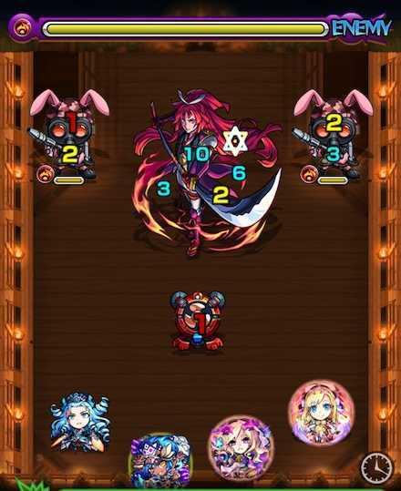 湖月姫のステージ1攻略
