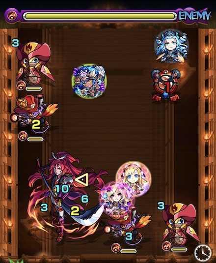 湖月姫のステージ2攻略