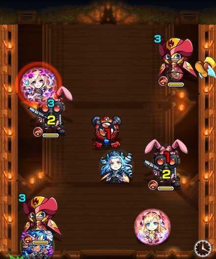 湖月姫のステージ3攻略