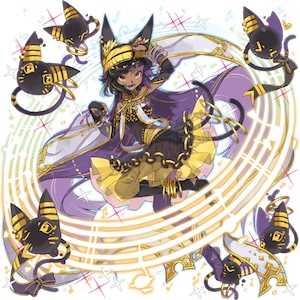 [奏で踊る猫神]バステトの画像