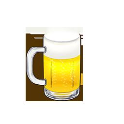 今日のご褒美☆ビールの画像