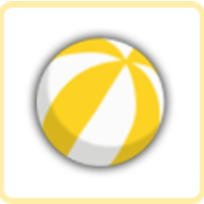 ウォーターボール・黄の画像