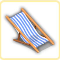 ビーチチェアの画像