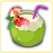 ココナッツ風呂の画像