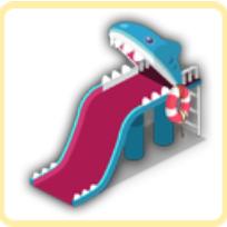シャーク滑り台の画像