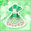 ガールフレンドのお花畑のライトジャケット