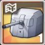 138.6mm単装砲Mle1929T3の画像