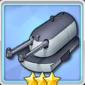 潜水艦用203mm連装砲Mle1924T0の画像