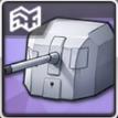 138.6mm単装砲Mle1929T2の画像