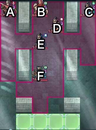 ヴァルハルト戦インファナルのマップ