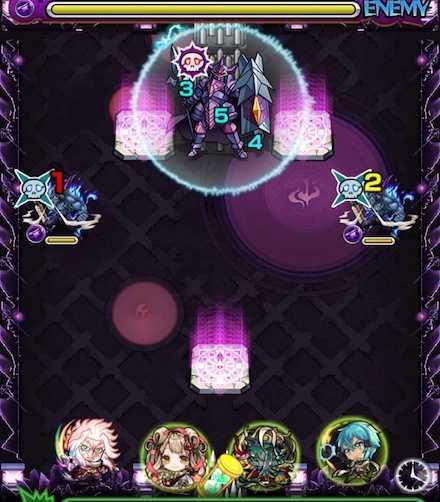 愛染明王のステージ1攻略