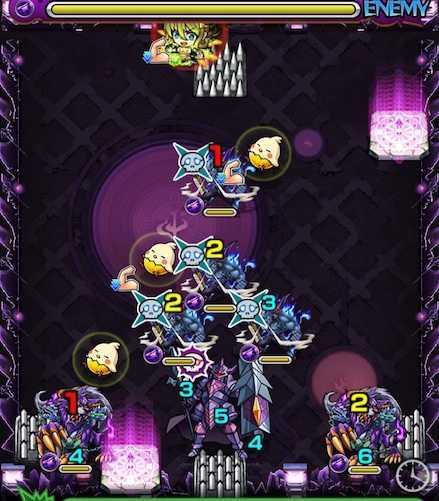 愛染明王のステージ2攻略
