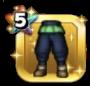 ポロンのズボン