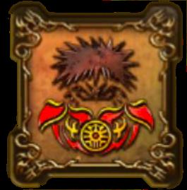 魔人王ジャガンの紋章・盾