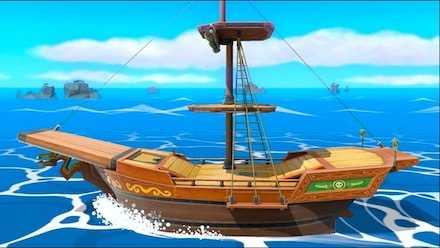 海賊船の画像