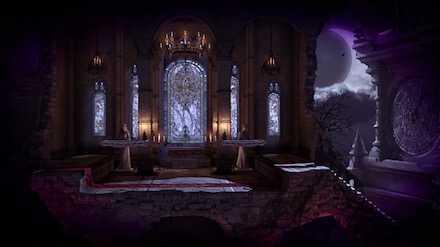 ドラキュラ城の画像