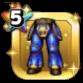 ブルーメタルの鎧下