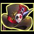 蝶精霊の帽子の画像