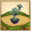 ミス・モノクロームの像