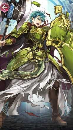 エフラム(双聖の勇王)の立ち絵
