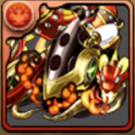 炎の古代龍・アンモナイトの画像