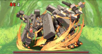 炎と木の古代龍の5F