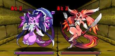 闇の魔石龍の3F