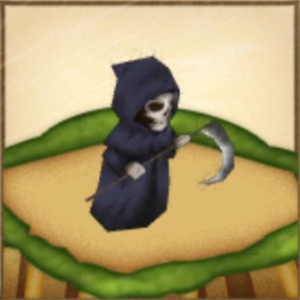 黒き死の像