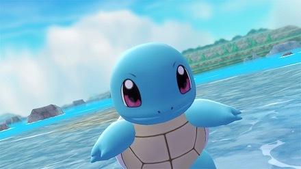 ポケモンレッツゴー(ピカブイ)のゼニガメの画像