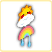 お天気オブジェクトの画像