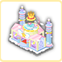 虹のお城の画像