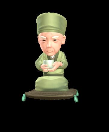 伝説の茶人利休のアイコン