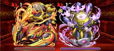 火と闇の鉄星龍の7F(ボス)