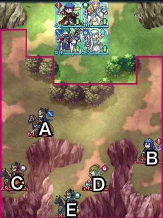 縛鎖の第14迷宮:第3ステージのマップ画像