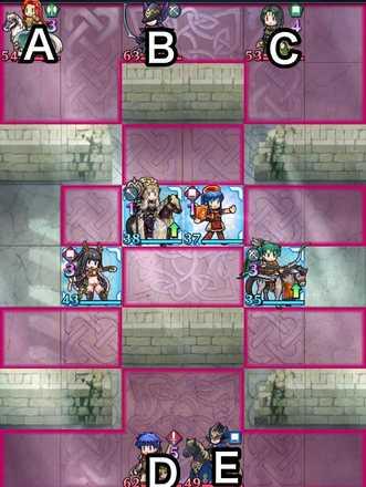 縛鎖の第14迷宮:第5ステージのマップ画像