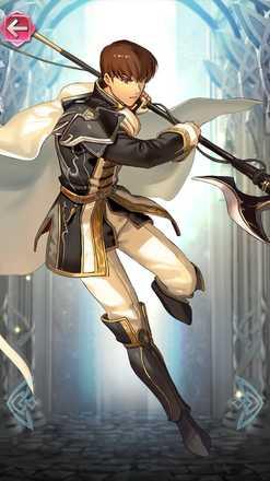 キュアン(聖光の槍騎士)の立ち絵