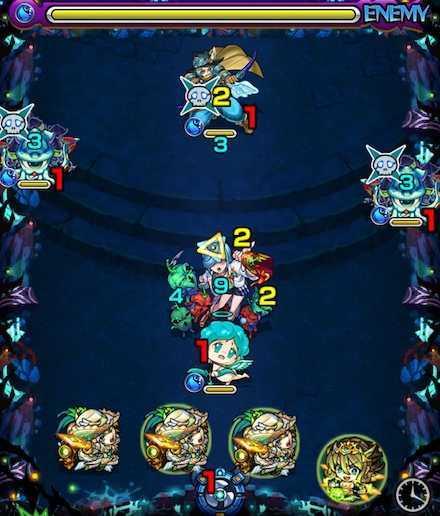 カルナのステージ1攻略
